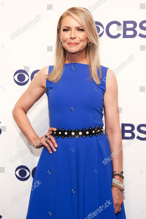 Faith Ford attends the CBS Network 2018 Upfront at The Plaza Hotel, in New York