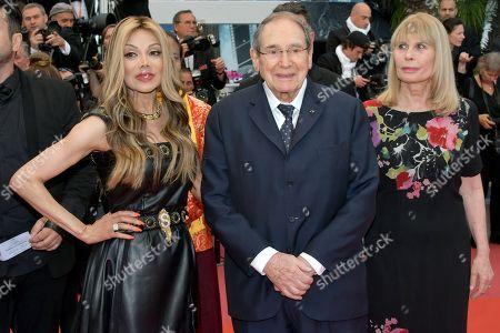 La Toya Jackson and Robert Hossein