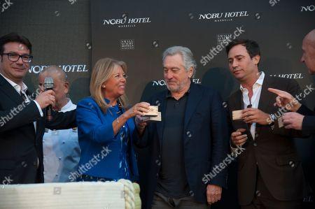 Robert De Niro and guests
