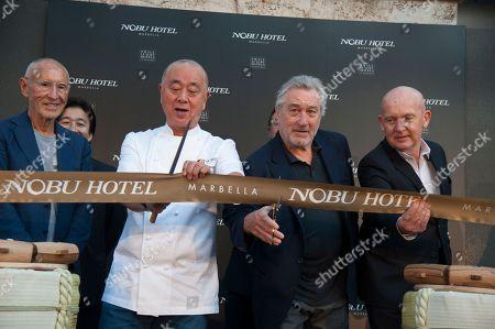 Nobuyuki Matsuhisa, Robert De Niro and guests