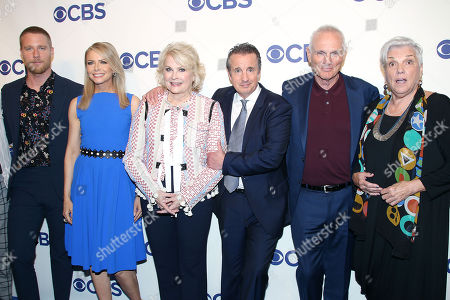 Stock Picture of Jake McDorman, Faith Ford, Candice Bergen, Grant Shaud, Joe Regalbuto and Tyne Daly