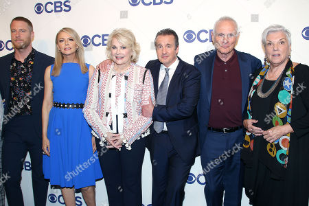 Jake McDorman, Faith Ford, Candice Bergen, Grant Shaud, Joe Regalbuto and Tyne Daly