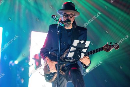 Les Claypool, of Primus, performs onstage at the Fox Theatre, on Wednesday, May, 16th, 2018, in Atlanta