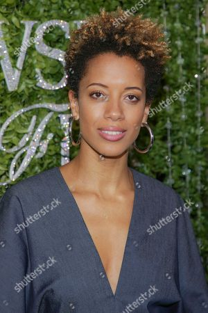 Carly Cushnie attends the Swarovski and CFDA 2018 emerging talent award nominees celebration at Dumbo House, in New York