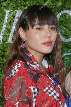 Natalie Lim Suarez attends the Swarovski and CFDA 2018 emerging talent award nominees celebration at Dumbo House, in New York