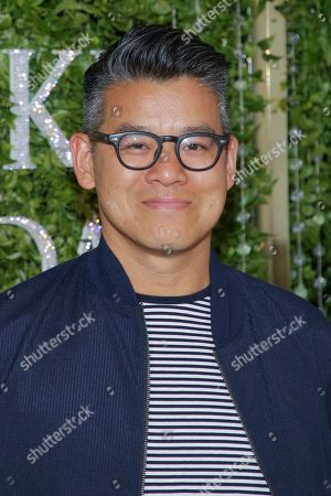 Peter Som attends the Swarovski and CFDA 2018 emerging talent award nominees celebration at Dumbo House, in New York