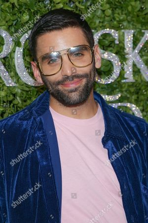 Phillip Picardi attends the Swarovski and CFDA 2018 emerging talent award nominees celebration at Dumbo House, in New York