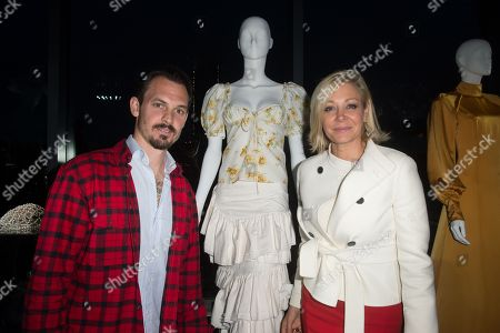 Editorial picture of CFDA and Swarovski emerging talent cocktail party, Inside, New York, USA - 16 May 2018