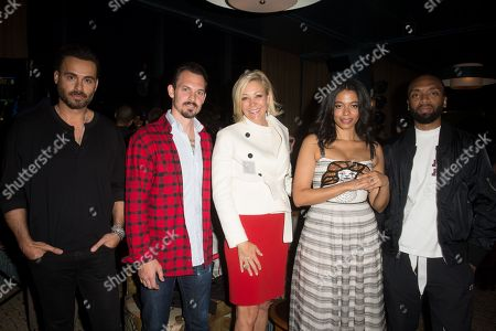 Stock Photo of Mike Amiri, Kristopher Brock, Nadja Swarovski, Aurora James, Kerby Jean-Raymond