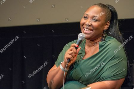 "Stock Picture of Apolline Traore, award-winning writer and director of the festival's opening night film ""Borders"" discusses her work."