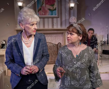 Anita Dobson as Eleanor, Debbie Chazen as Suzanne, Maisie Richardson-Sellers as Laurie