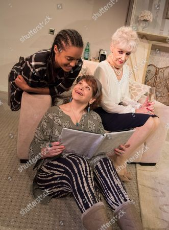 Editorial picture of '3 Women' Play performed at the Trafalgar Studios, London, UK, 17 May 2018