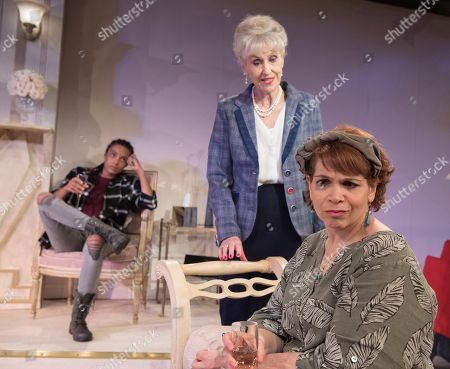 Editorial image of '3 Women' Play performed at the Trafalgar Studios, London, UK, 17 May 2018