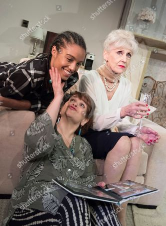 Maisie Richardson-Sellers as Laurie, Debbie Chazen as Suzanne, Anita Dobson as Eleanor,