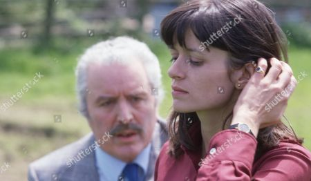 Ep 539 Tuesday 26th June 1979 Maurice Westrop's daughter, Judy, arrives in the village and is not impressed - With Judy Westrop, as played by Jane Cussons ; Maurice Westrop, as played by Edward Dentith.