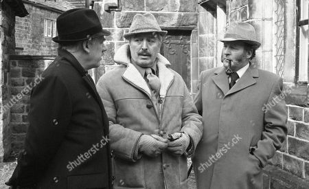 Editorial image of 'Emmerdale Farm' TV Series UK  - 1979