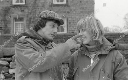 Stock Photo of Ep 498 Thursday 1st February 1979 With Joe Sugden, as played by Frazer Hines ; Kitty Lennard, as played by Katherine Iddon.