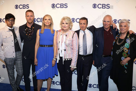 Stock Image of Nik Dodani, Jake McDorman, Faith Ford, Candice Bergen, Grant Shaud, Joe Regalbuto and Tyne Daly