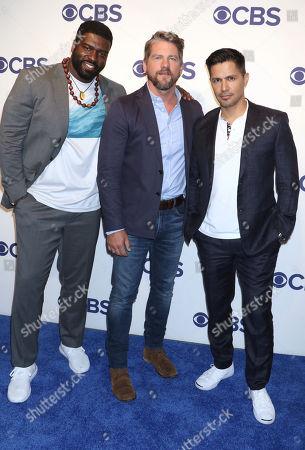 Stephen Hill, Zachary Knighton and Jay Hernandez