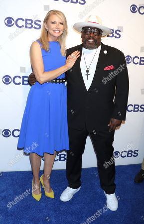 Stock Photo of Faith Ford and Cedric the Entertainer