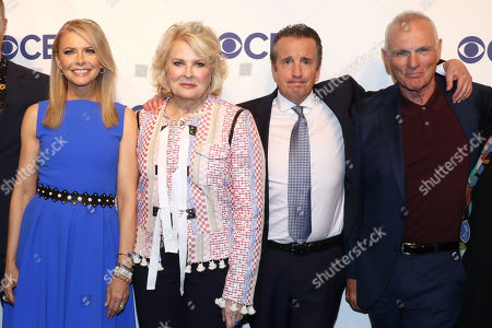 Editorial picture of CBS Upfront Presentation, Arrivals, New York, USA - 16 May 2018
