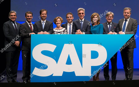 Editorial image of Annual General Meeting of SAP SE in Mannheim, Germany - 17 May 2018