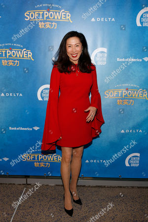 Editorial photo of 'Soft Power' Theatre show premiere, Ahmanson Theatre, Los Angeles, USA - 16 May 2018