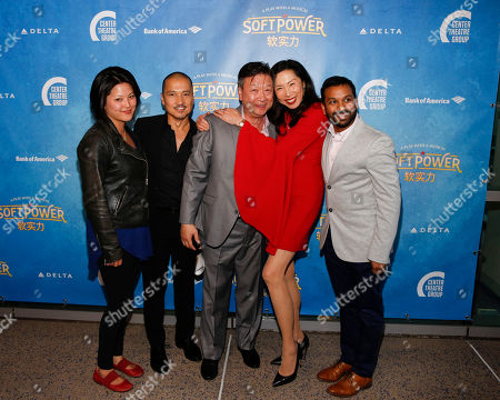 Stock Picture of Tiffane Hsu, Jon Jon Briones, Tzi Ma, Jodi Long and Snehal Desai