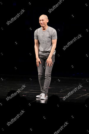 Francis Jue at the opening night performance of the world premiere of David Henry Hwang and Jeanine Tesori's 'Soft Power' at Center Theatre Group/Ahmanson Theatre