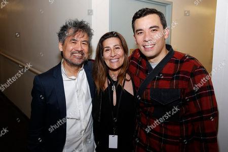David Henry Hwang, Jeanine Tesori and Conrad Ricamora