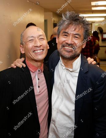 Francis Jue and David Henry Hwang
