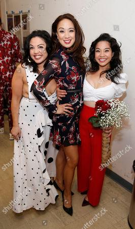 Maria-Christina Oliveras, Jaygee Macapugay and Geena Quintos