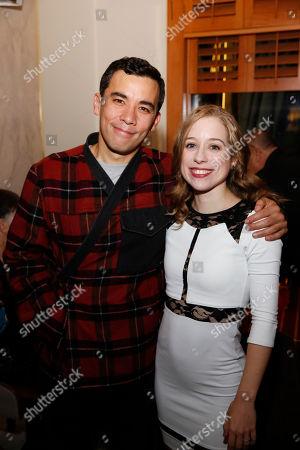 Conrad Ricamora and Alyse Alan Louis