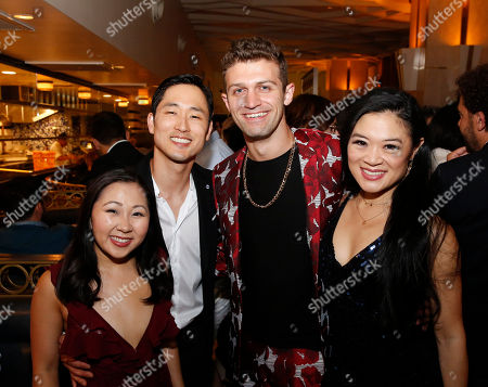 Stock Picture of Kendyl Ito, Daniel May, choreographer Sam Pinkleton and Kristen Faith Oei
