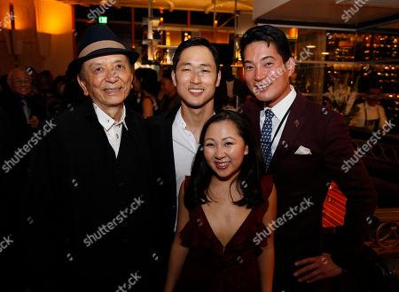 James Hong, Daniel May, Kendyl Ito and Austin Ku