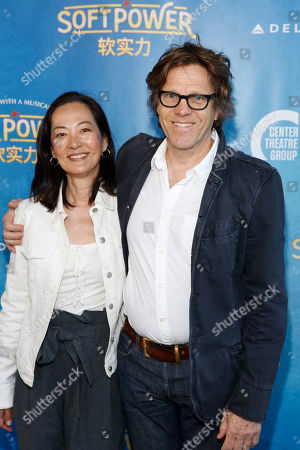 Rosalind Chao and Simon Templeman