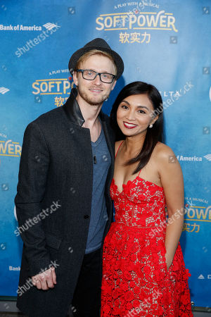 Editorial image of 'Soft Power' Theatre show premiere, Ahmanson Theatre, Los Angeles, USA - 16 May 2018