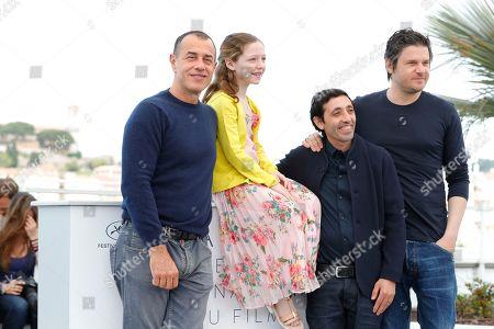 Matteo Garrone, Alida Baldari Calabria, Marcello Fonte and Edoardo Pesce