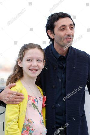 Marcello Fonte and Alida Baldari Calabria
