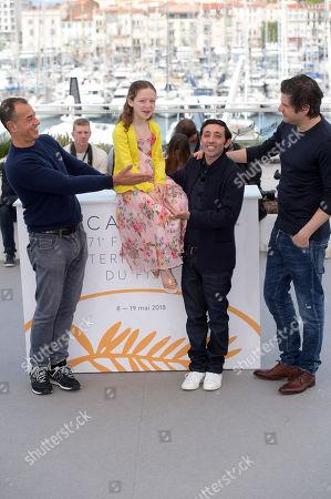 Matteo Garrone, Alida Baldari Calabria, Marcello Fonte, Edoardo Pesce
