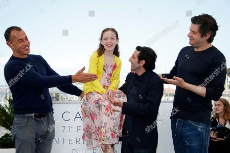 Editorial photo of Dogman Photocall - 71st Cannes Film Festival, France - 17 May 2018