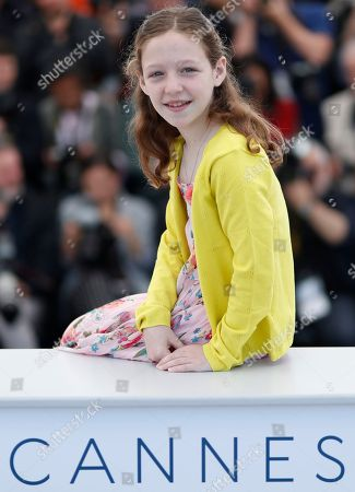 Italian actress Alida Baldari Calabria poses during the photocall for 'Dogman' at the 71st annual Cannes Film Festival, in Cannes, France, 17 May 2018. The movie is presented in the Official Competition of the festival which runs from 08 to 19 May.