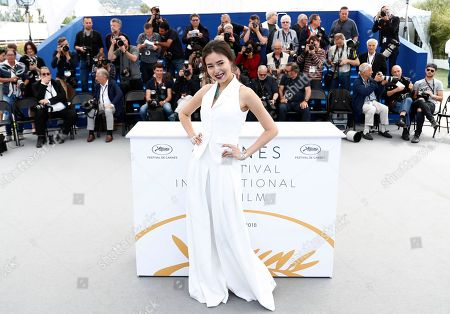 Actress Dinara Baktybayeva poses during the photocall for 'The Gentle Indifference of the World' at the 71st annual Cannes Film Festival, in Cannes, France, 17 May 2018. The movie is presented in the section Un Certain Regard of the festival which runs from 08 to 19 May.