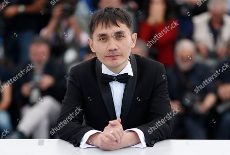 Director Adilkhan Yerzhanov poses during the photocall for 'The Gentle Indifference of the World' at the 71st annual Cannes Film Festival, in Cannes, France, 17 May 2018. The movie is presented in the section Un Certain Regard of the festival which runs from 08 to 19 May.