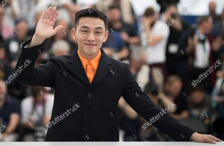 South Korean actor Yoo Ah-In poses during the photocall for 'Burning' at the 71st annual Cannes Film Festival, in Cannes, France, 17 May 2018. The movie is presented in the Official Competition of the festival which runs from 08 to 19 May.