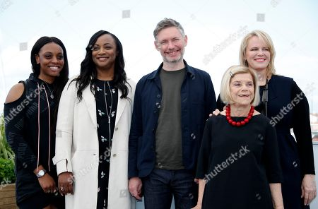 (R-L) Producer Nicole David, producer Lisa Erspamer, director Kevin Macdonald, producer Pat Houston and producer Rayah Houston pose during the photocall for 'Whitney' at the 71st annual Cannes Film Festival, in Cannes, France, 17 May 2018. The movie is presented in the section Special Screenings of the festival which runs from 08 to 19 May.