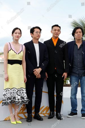 Jong-seo Jeon, Yeun Steven, Yoo Ah-In and Lee Chang Dong