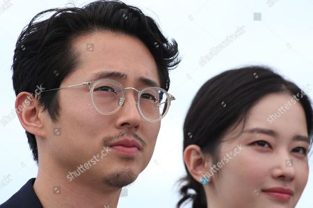 Steven Yeun and Jong-seo Jeon