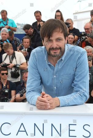 Director Ulrich Kohler poses for photographers during a photo call for the film 'In My Room' at the 71st international film festival, Cannes, southern France