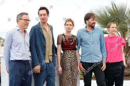 Christoph Friedel, Hans Low, Elena Radonicich, Ulrich Kohler and Claudia Steffen